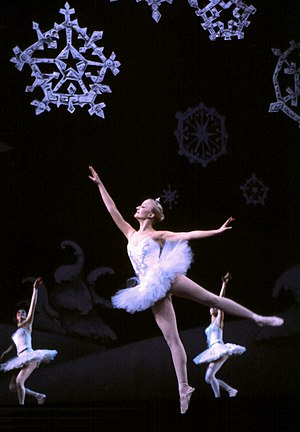 English: A performance of The Nutcracker balle...