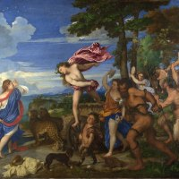 """Bacchus and Ariadne"" by Titian"