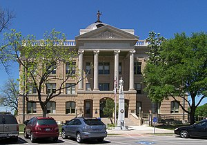 The Williamson County Courthouse located at 30...