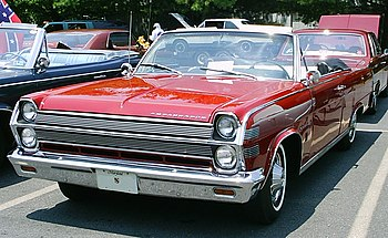 1966 AMC Ambassador 990 convertible. A full-si...