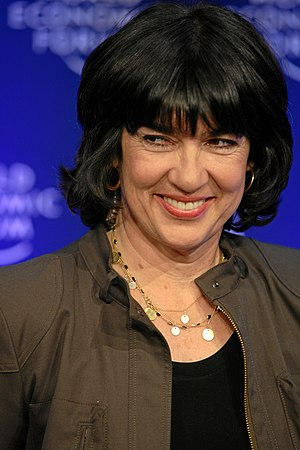 English: Christiane Amanpour, Chief Internatio...
