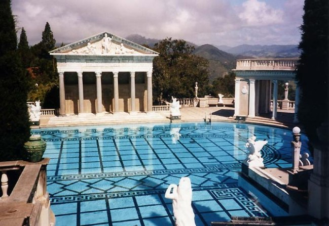 Photo of Hearst Castle outdoor pool