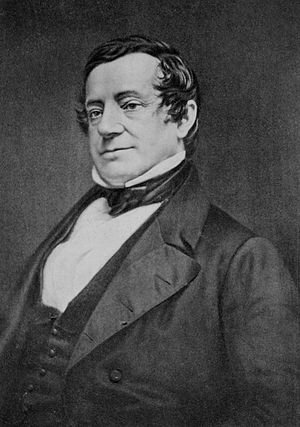 A portrait of Washington Irving.