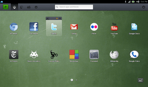 Jolicloud Desktop on Joli OS 1.2