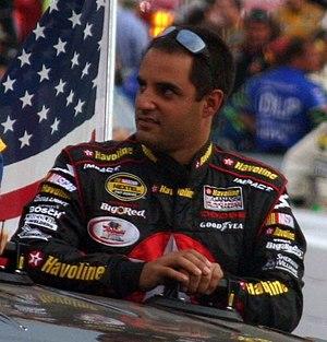 NASCAR and former Formula One driver Juan Pabl...