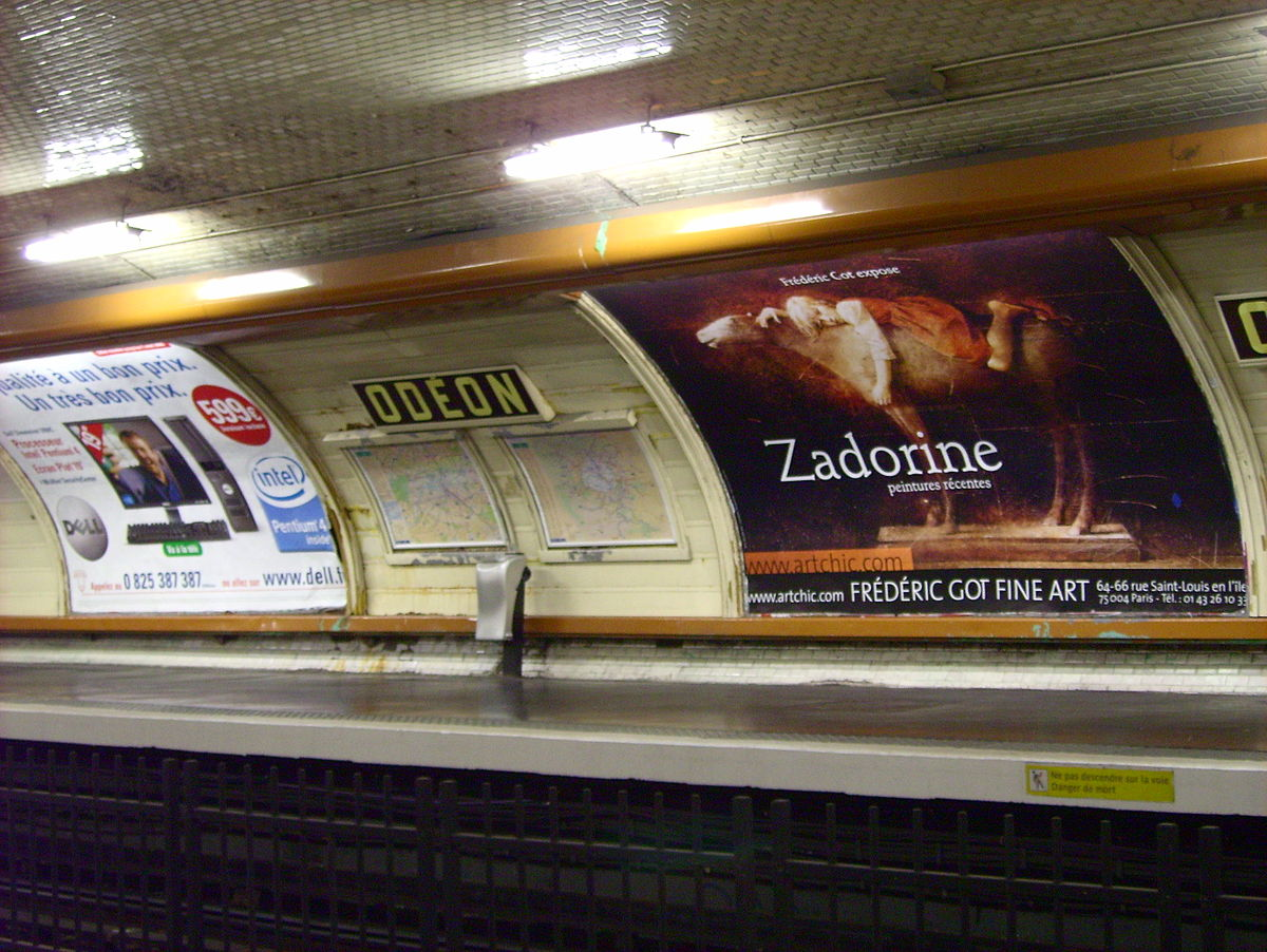 Paris Metro Saint Placide