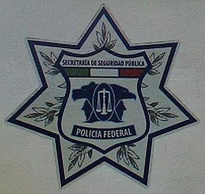 Shield of the Mexican Federal Police (Policía ...