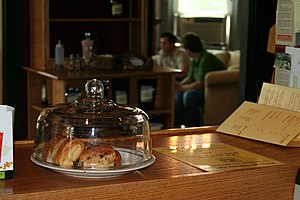 Coffeehouses in the United States often sell p...