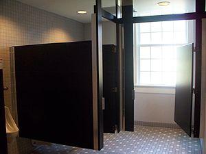 Public restroom.
