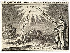 Wenceslas Hollar - Abraham's dream (State 2)