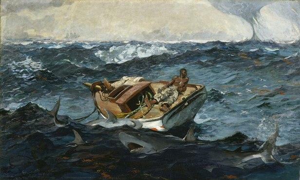 Winslow Homer - The Gulf Stream - Metropolitan Museum of Art
