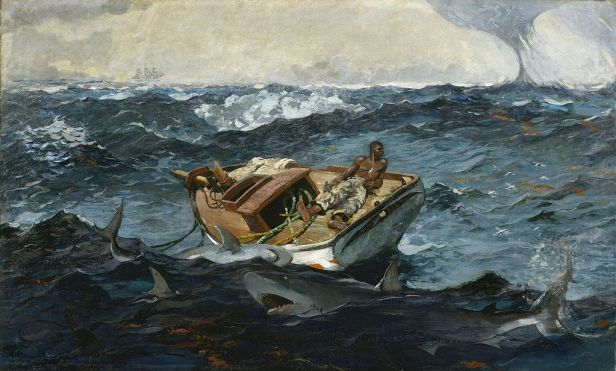 Winslow Homer - The Gulf Stream - Metropolitan Museum of Art