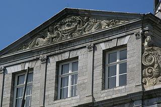 Gevel stadhuis Maastricht