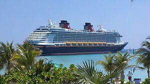English: Disney Dream at Castaway Cay