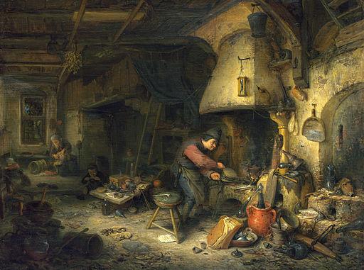 Adriaen van Ostade - Alchemist - WGA16738