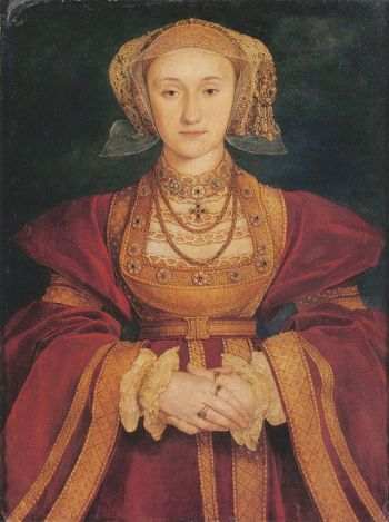 Anne of Cleves, by Hans Holbein the Younge