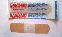 邦迪 (藥水膠布) - 維基百科。自由的百科全書