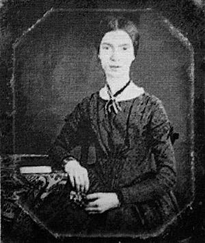 Black-white photograph of Emily Dickinson-2