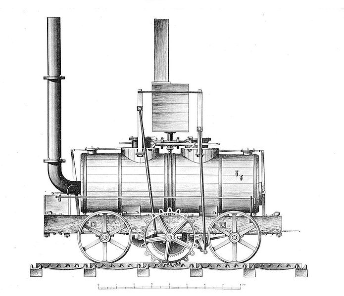 File:Blenkinsop's rack locomotive, 1812 (British Railway Locomotives 1803-1853).jpg