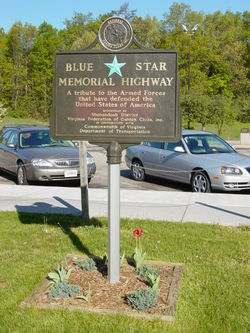 Blue Star Memorial Highway  Wikipedia