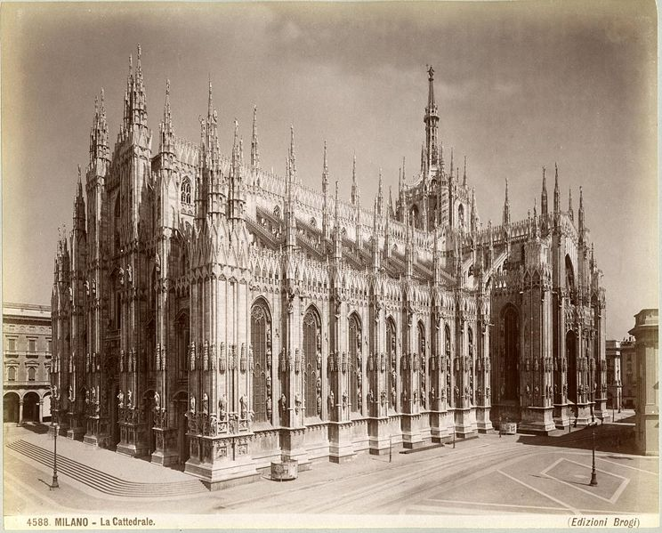 katedra w Mediolanie, bryła