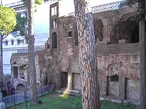 Remains Of The Top Floors An Insula Near Capitolium And Aracoeli In Rome