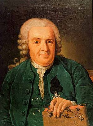 Botanist, physician and zoologist Carl Linnaeus