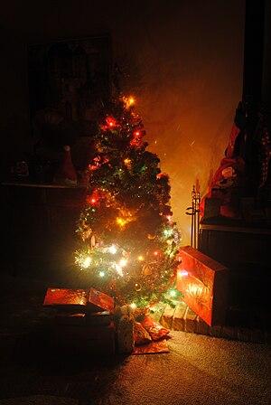 English: An Australian Christmas tree