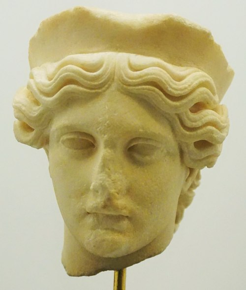 Hellenic Museum, Melbourne - Joy of Museums - Goddess with Diadem
