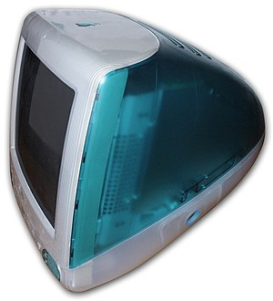 "The original ""Bondi Blue"" iMac G3 wa..."
