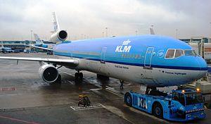 KLM MD-11 at Amsterdam