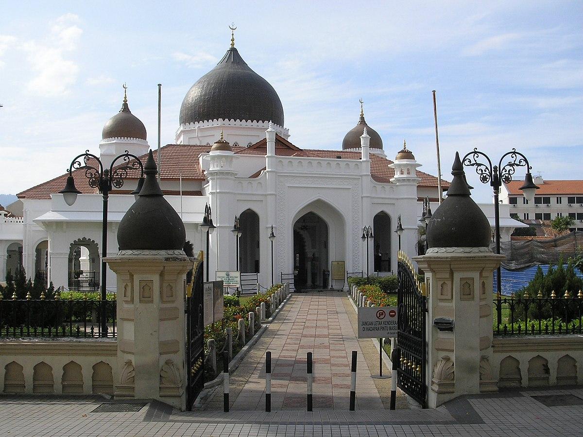 Masjid Kapitan Keling  Wikipedia Bahasa Melayu