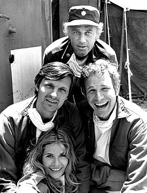 Publicity photo of some M*A*S*H cast members f...
