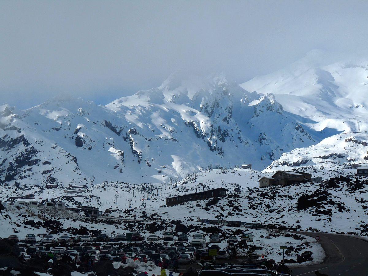 Whakapapa skifield  Wikipedia