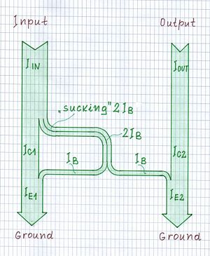 Circuit IdeaHow the Wilson current mirror equalizes the