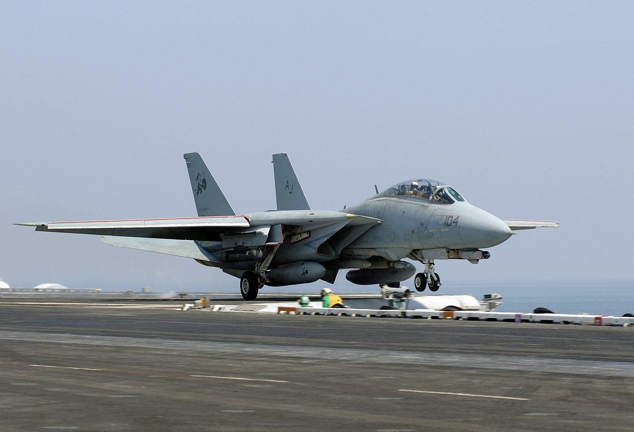 Aircraft Carrier Hd Wallpaper File Us Navy 051006 N 2838c 002 An F 14d Tomcat Assigned