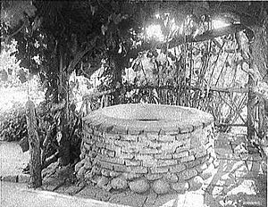 Wishing well, Estudillo House, San Diego, Cali...
