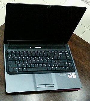 English: Laptop