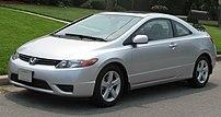 2006-2007 Honda Civic photographed in USA.