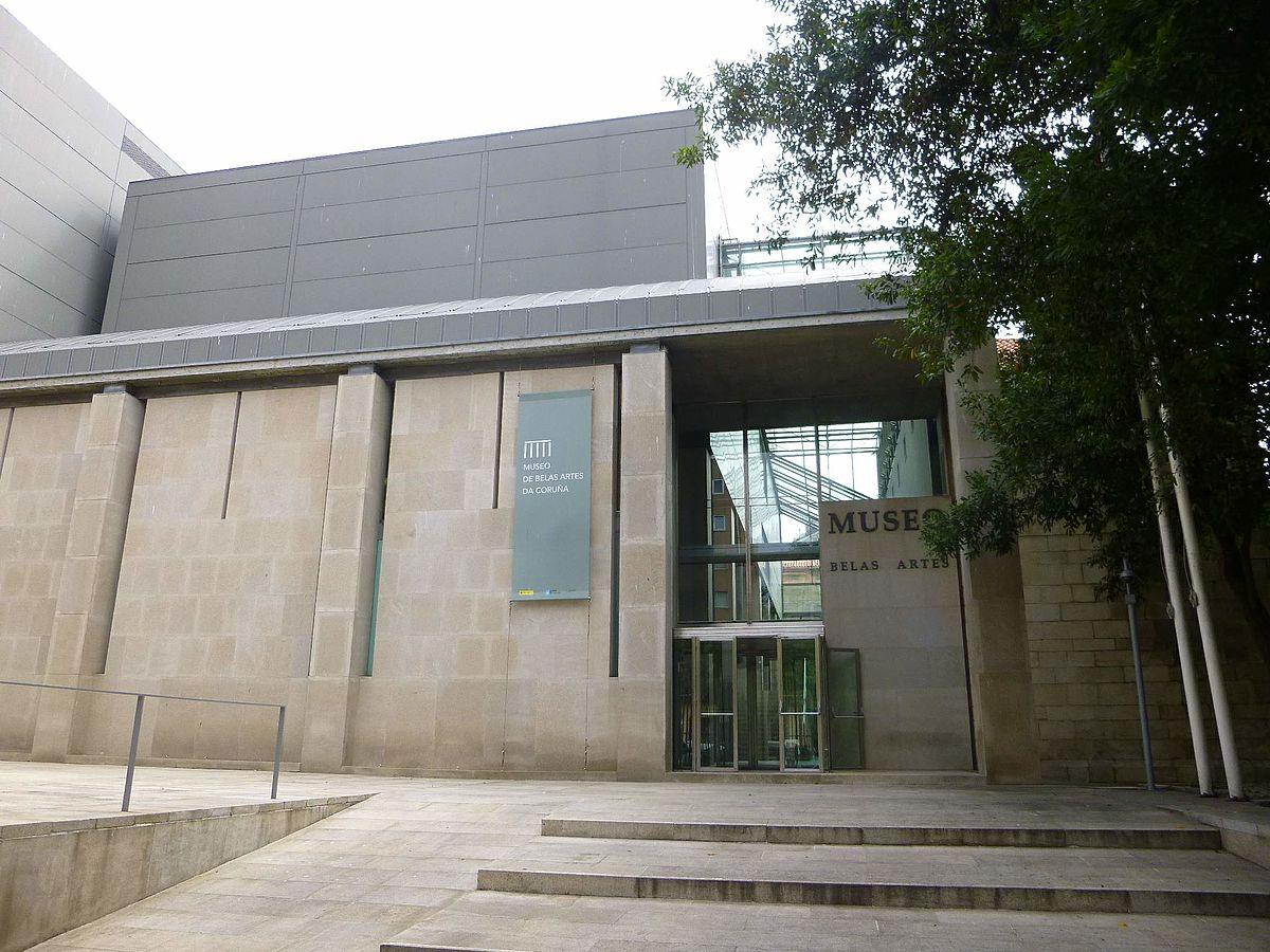 Museo de Bellas Artes de La Corua  Wikipedia la enciclopedia libre