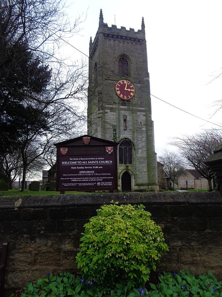 File:All Saints' Parish Church, Barwick-in-Elmet (18th January
