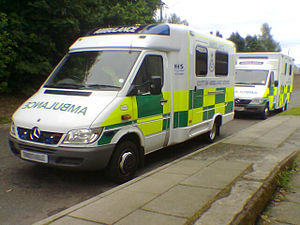 English: Scottish Ambulance Service: mercedes ...