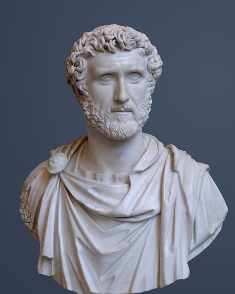 Antonio Pio, coniciderado uno de los buenos emperadores de roma.