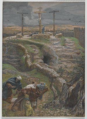Jesus Alone on the Cross