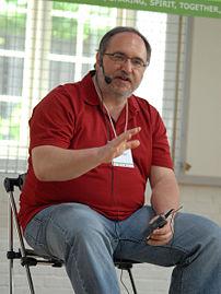 Dave Winer, at Reboot9 in Copenhagen
