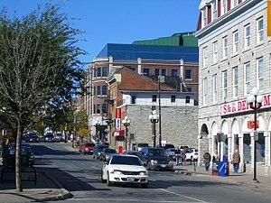 Princess Street in downtown Kingston.