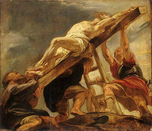 Elevation de la croix rubens