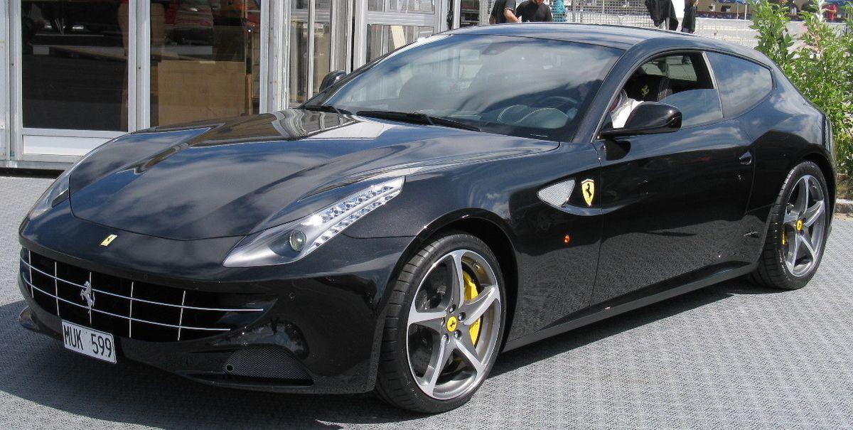 Matte Black Luxury Car Wallpaper Ferrari Ff Wikipedia