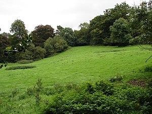 English: Green Hill Beautifully rolling hills ...