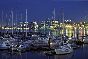 Halifax, Nova Scotia kaki langit di malam hari